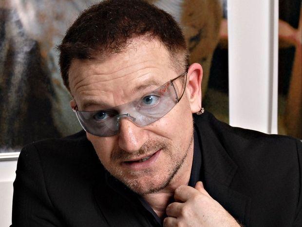 Biography of Bono of U2 | Famous People Biography Blog